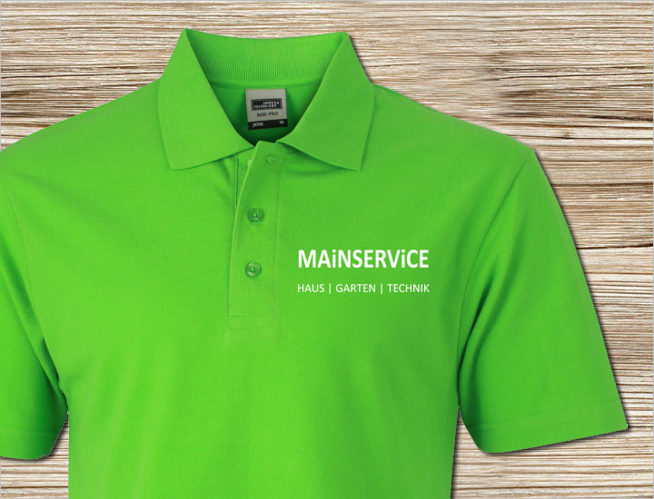 T-Shirt MAiNSERViCE